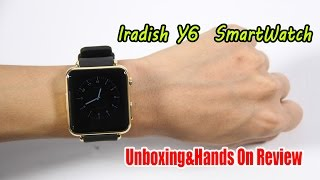 Iradish Y6 Smartwatch From Coolicool.Com