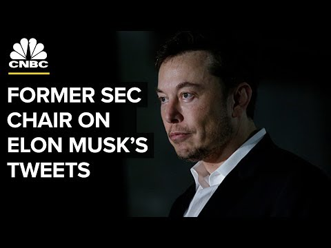 Musk's Tweet Could Be Securities Fraud If He Tried To Manipulate The Market: Former SEC Chair | CNBC