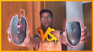 Gaming Mouse Vs Normal Mouse Hindi