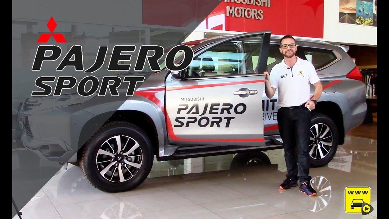 Pajero Sport Turbo Diesel 2020 nos mínimos detalhes