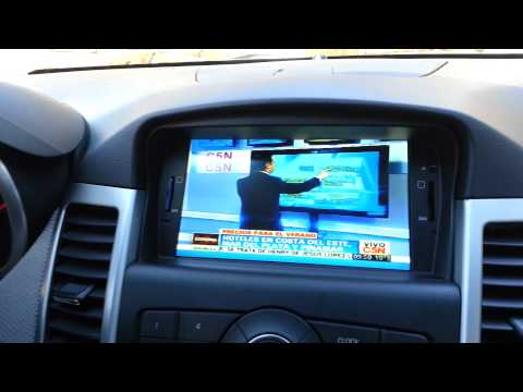 Chevrolet Cruze DVD Player Multimedia GPS BLUETOOTH TV DIGITAL CAMARA MARCHA ATRAS