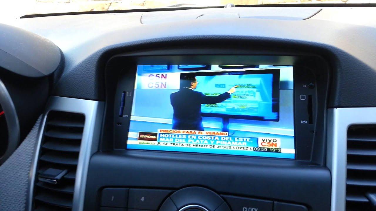 Chevrolet Cruze DVD Player Multimedia GPS BLUETOOTH TV