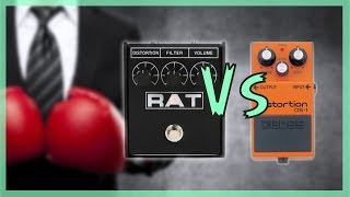 boss DS-1 vs proco RAT | distortion comparison