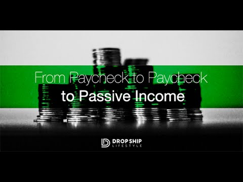From Paycheck to Paycheck to Passive Income - Interview with Ben K from Drop Ship Lifestyle