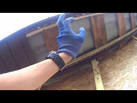 видео: Подшивка крыши(софит)