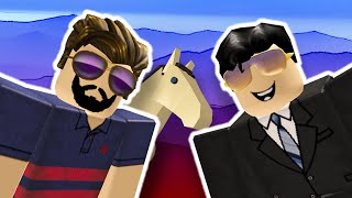 Roblox | Horse Valley #2 | Ben and Dad