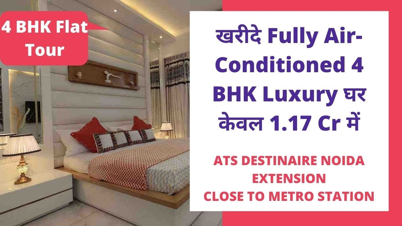 Ats Destinaire 7861008808 4 Bhk Flats For Sale In Noida Extension 2550 Sft Price 1 17 Cr Youtube
