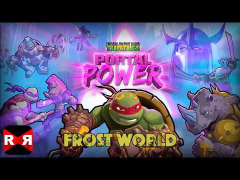 TMNT - Portal Power Frost World (by Nickelodeon) - IOS / Android - Walkthrough Gameplay