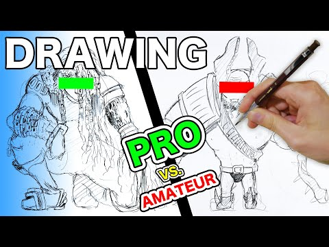 Draw: ORANG BURUK / Penjahat | Tamu Artis JPN Pro 15 Menit ART BATTLES! [tantangan]