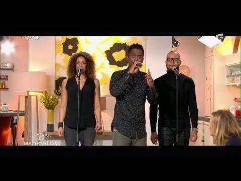 Black M - French Kiss (live) - La Maison des Maternelles - France 5