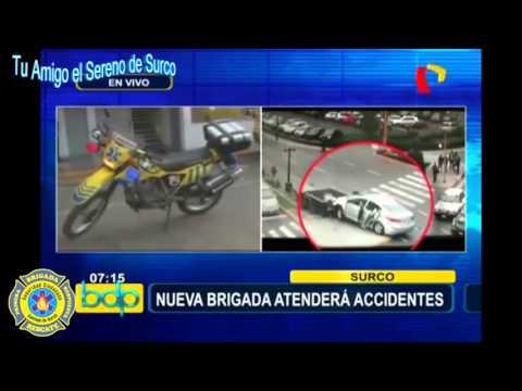 Brigada De Rescate Del Serenazgo De Surco Atiende Con Personal Expertos Y Equipos Sofisticados