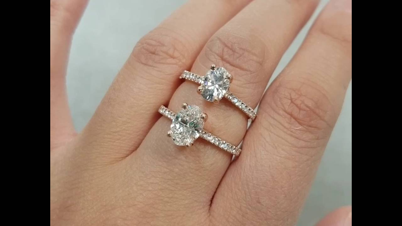 White sapphire vs diamond vs moissanite