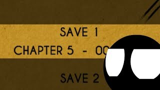 Stickman played Bendy and the Ink Machine Chapter 5