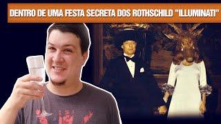 """Por Dentro de uma Festa Secreta dos Rothschild """"Illuminati"""" (#48 - Notícias Assombradas)"""