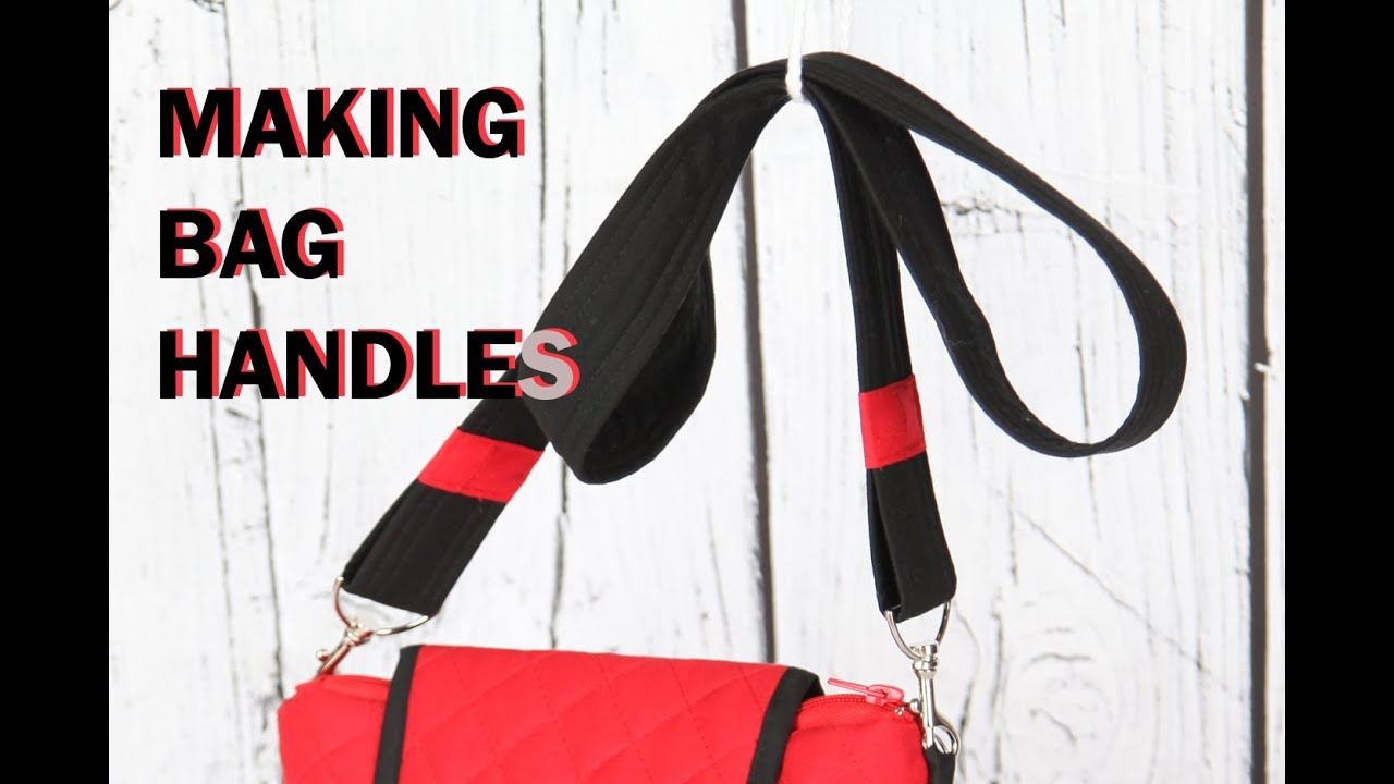 How To Make A Bag Handle Using Webbing Tape Luggage Strap