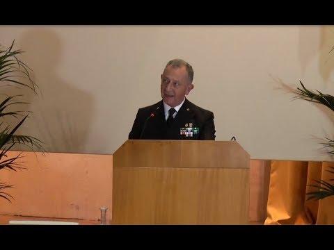 Marina Militare - Inaugurazione Anno Accademico 2017/2018, intervento dell'Ammiraglio Girardelli