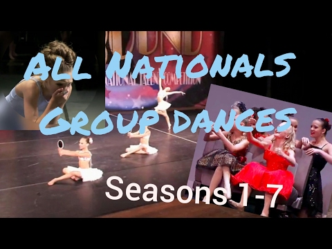 DANCE MOMS || All ALDC National Group Dances
