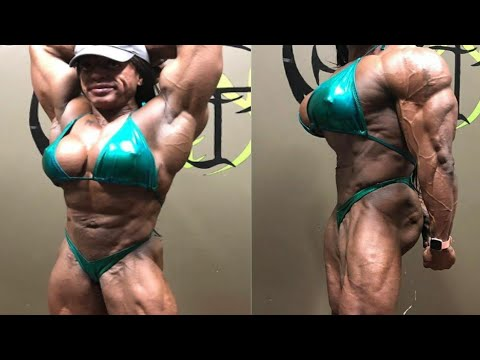 Monique Jones, FEMALES BODYBUILDING, IFBB MUSCLE, WORKOUT