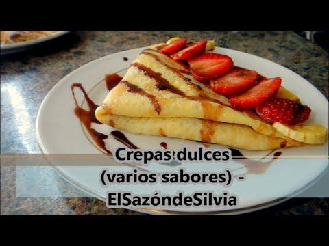 Crepas dulces (varios sabores) - ElSazóndeSilvia