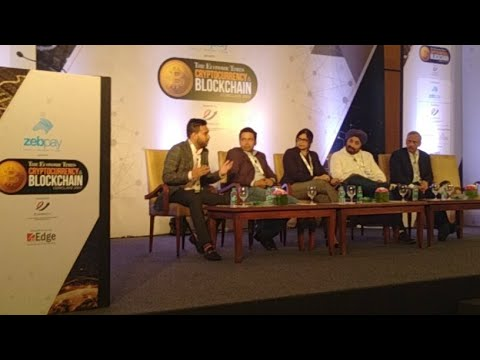 Live Cryptocurrency Blockchain event at Mumbai By Economic Times