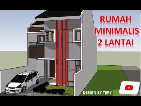 Rumah Minimalis 2 Lantai Youtube