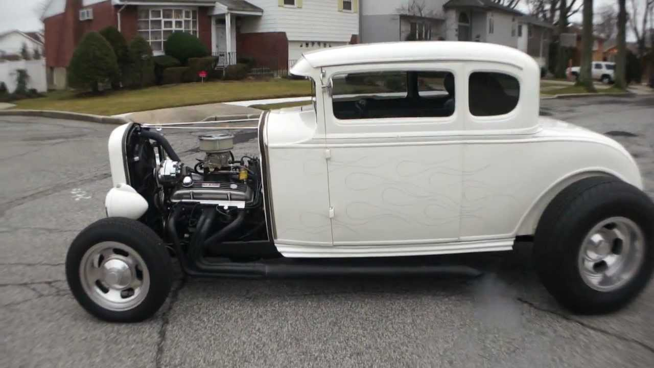 SOLD~~1930 Ford 5 Window Coupe Old School Hot Rod For Sale ...