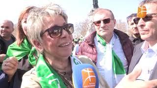 Paris : Paroles de manifestants au micro de Berbère Télévision