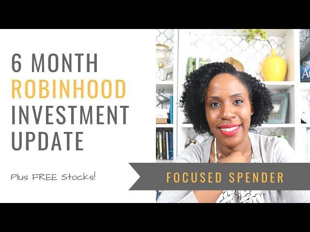 $500 Robinhood Investment After SIX MONTHS - Update
