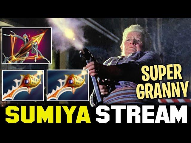 GRANDMA holding Ballista MACHINE GUN | Sumiya Invoker Stream Moment #2147
