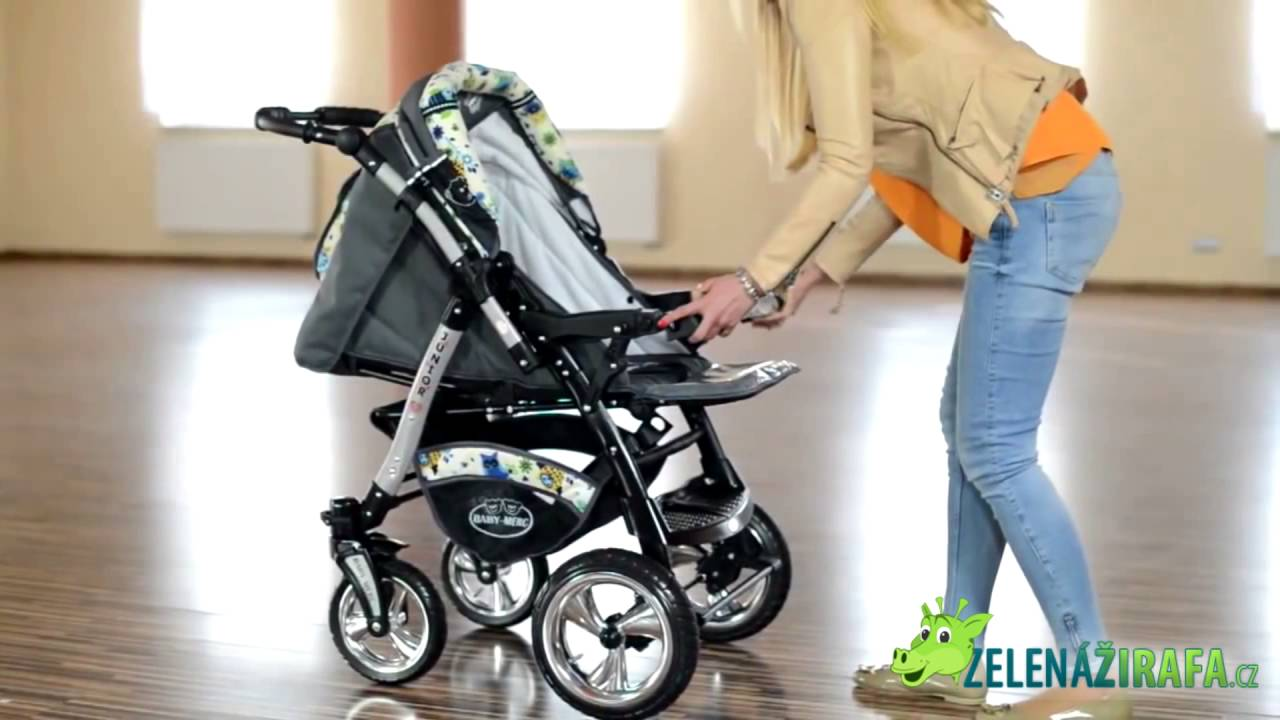 Solved: how to adjust wheels for baby merc s6 pram to be able to.
