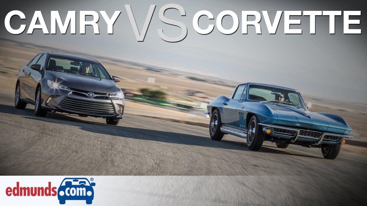 39 66 corvette vs toyota camry classic american sports car for Modern american classics