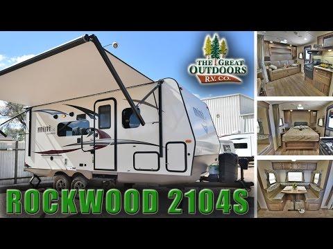 New 2018 FOREST RIVER ROCKWOOD Mini Lite 2104S R1088 Colorado RV Dealer