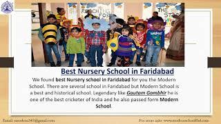 The best school in Faridabad   Modern school Faridabad