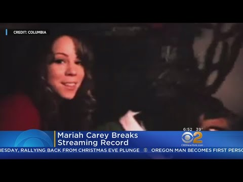 Mariah Carey's 'All I Want For Christmas' Breaks Streaming Record Mp3