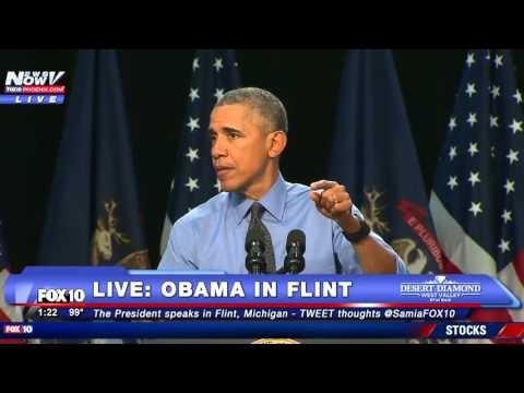 WATCH: President Obama Addresses Water Crisis In Flint, Michigan - FULL SPEECH - FNN
