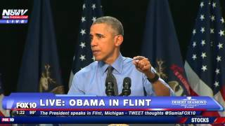 WATCH: President Obama Addresses Water Crisis In Flint, Michigan - FULL SPEECH - FNN
