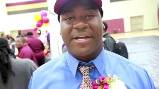 MaStephon Taylor signs with South Carolina during McDonough 35's National Signing Day Ceremonies (vi