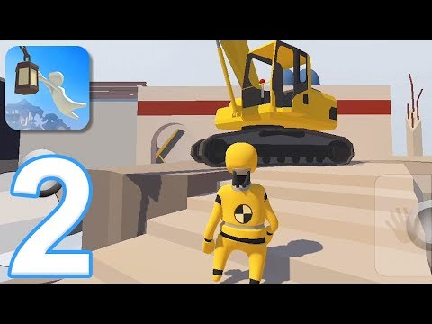 Human Fall Flat Mobile - Gameplay Walkthrough Part 2 - Level 5: Demolition (iOS, Android)