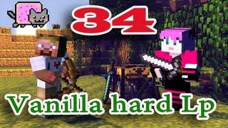 ч.34 Minecraft Vanilla hard Lp - В поисках Эндер портала (Снеговики)
