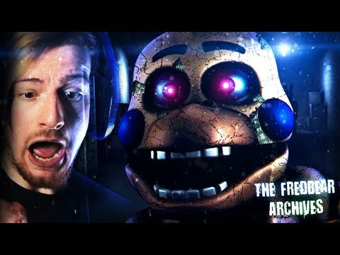 HUNTED BY THE ROCKSTAR ANIMATRONICS. || The Fredbear Archives (Part 1)
