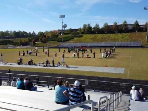 Stuarts Draft High School Matching Band at Powhatan