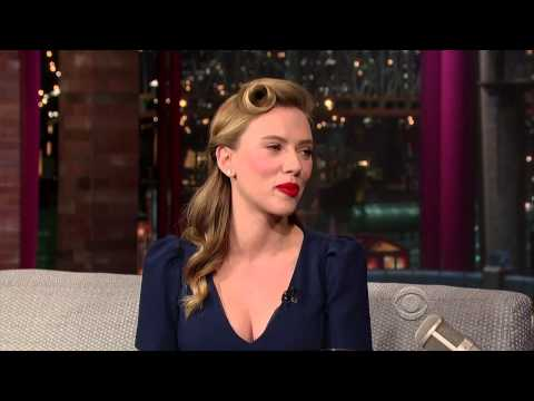 Scarlett Johansson on David Letterman - January 8 2014 - Ful