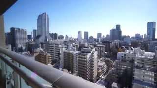 超高級タワー!ザ・レジデンス三田16階南向き!3LDK107.59㎡の室内動画
