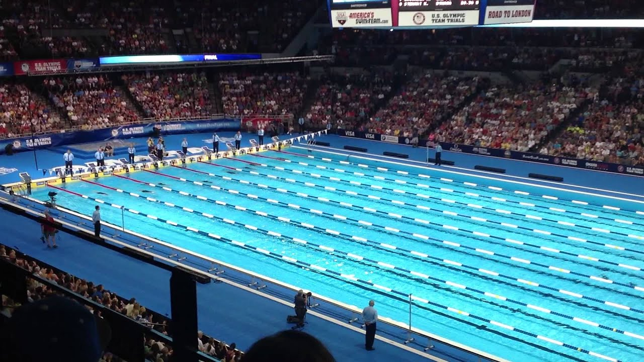 Olympic Swimming Trials 2012   Womenu0027s 100m Backstroke Finals   YouTube