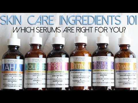 SKIN CARE INGREDIENTS 101 | Which Serums Are Right for You?