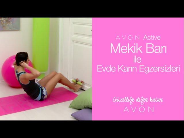 Mekik Barı İle Evde Karın Egzersizleri