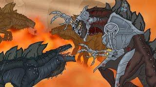 Кинг Конг против Годзиллы 7 -  Кибер-Зилла: Начало / King Kong vs. Godzilla - Cyber-Zilla: Origin