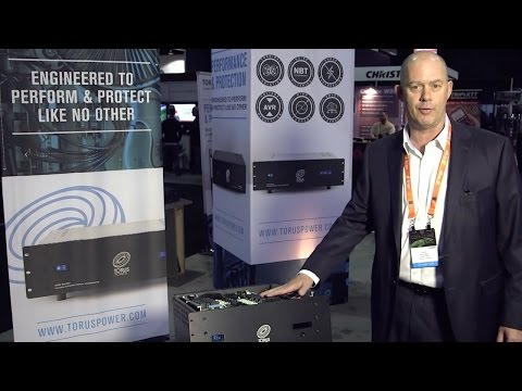 CEPro Discovers the AVR2 Power Conditioner from Torus Power at CEDIA 2014