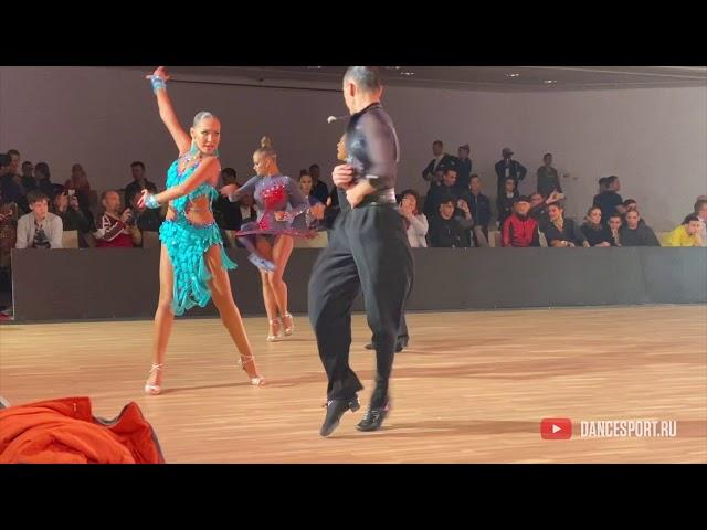 Alibek Zhussipbay - Alua Kargabaeva KAZ, Pasodoble / DanceSport Cup, Benidorm