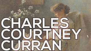 Charles Courtney Curran: A collection of 187 paintings (HD)